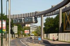 Sseldorf SkyTrain de ¼ de DÃ Images libres de droits