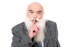 Sshh ! do not make noise ! Stock Photography
