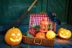 Ssimbols de Halloween Fotografia de Stock