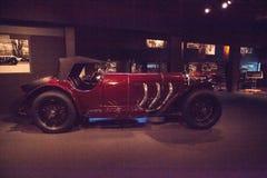 SSK röda Mercedes Benz Sport Model 1929 Arkivfoton