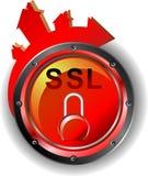 SSL ασφάλειας Στοκ Φωτογραφία