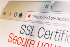 SSL Connection Stock Photos