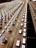 SSL do console do estúdio fotos de stock