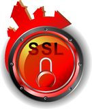 SSL - Garantie illustration de vecteur