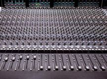 SSL Mixer royalty free stock photos