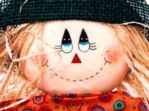 säsongsbetonad feriescarecrow Royaltyfri Fotografi
