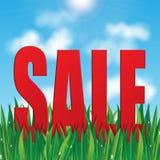 Säsongsbetonad försäljning Arkivfoto