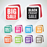 Sspecial offer badges Stock Image