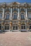 凯瑟琳宫殿彼得斯堡s圣徒st 免版税图库摄影