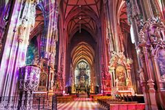 SStephansdom大教堂,维恩,奥地利 库存图片