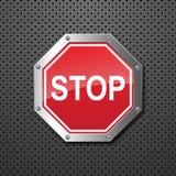 sstop знака предпосылки Стоковые Изображения RF