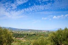 Ssummer rural landscape of Zakynthos, Greece Stock Images