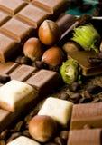 Stäbe der Schokolade lizenzfreie stockbilder