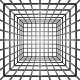 Stäbe des Gefängnis-3D Lizenzfreie Stockbilder