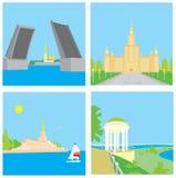 städer Royaltyfri Bild