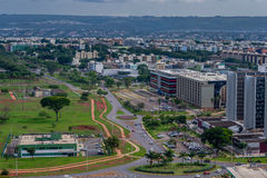 Städer av Brasilien - Brasilia DF Arkivfoton