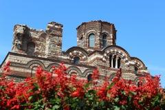 Städer av Bulgarien Nesebur arkivbild