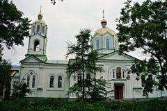 Städer av Ukraina Myrhorod Arkivbild