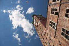 städer danzig berömda gdansk poland Royaltyfri Foto
