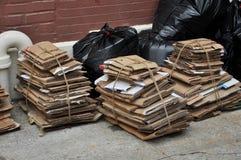 Städtisch bereiten Sie Abfall auf Lizenzfreie Stockbilder