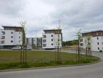 Städtische Architektur Künstlerischer Blick in den Weinlesekräftigen farben Lizenzfreie Stockbilder