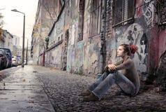 Städtische Art und Weise Lizenzfreie Stockfotos