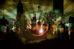 Städtische Audioverrücktheit Stockbild