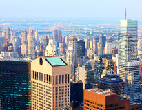 Städtische Ausbreitung stockfoto