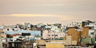 Städtische Ausbreitung in San Juan lizenzfreie stockbilder