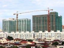 Städtische Baustelle Lizenzfreie Stockbilder