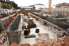 Städtische Baustelle Lizenzfreies Stockfoto