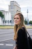 Städtische Berufsfrau Stockbild