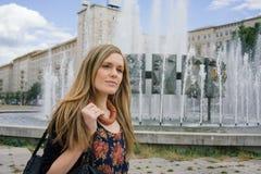 Städtische Berufsfrau Stockfoto