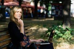 Städtische Berufsfrau Lizenzfreies Stockbild