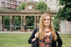 Städtische Berufsfrau Stockfotografie