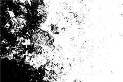 Städtische Beschaffenheit des Schwarzweiss-Schmutzes mit Kopienraum Abstrakter Illustrationsoberflächenstaub und raue schmutzige  lizenzfreie stockfotos