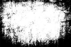 Städtische Beschaffenheit des Schwarzweiss-Schmutzes mit Kopienraum Abstrakter Illustrationsoberflächenstaub und raue schmutzige  lizenzfreies stockbild