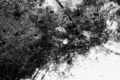 Städtische Beschaffenheitsschwarzweiss-schablone des Schmutzes Platz über irgendeinem ob Stockfoto
