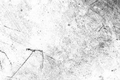 Städtische Beschaffenheitsschwarzweiss-schablone des Schmutzes Platz über irgendeinem ob Lizenzfreies Stockfoto
