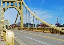 Städtische Brücke stockfoto