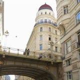 Städtische Brücke stockbilder