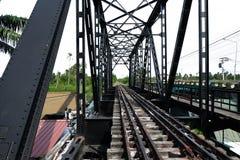 Städtische Eisenbahn Stockbild