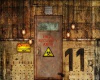Städtische Fabrik-Szene Lizenzfreies Stockfoto