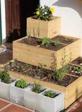 Städtische Gartenarbeit Lizenzfreie Stockfotografie