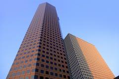 Städtische Gebäude der Houston-im Stadtzentrum gelegenen Stadt Lizenzfreie Stockbilder