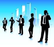 Städtische Geschäftsmänner Stockbild