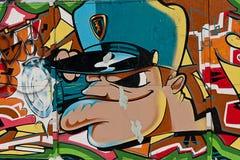 STÄDTISCHE GRAFFITI Stockbilder