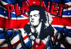 Städtische Graffiti Stockfotos