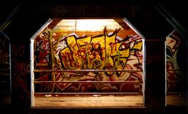 Städtische Grafiken, Atlanta GA stockfoto