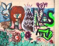Städtische Kunst Abstrakte Natur Stockbild